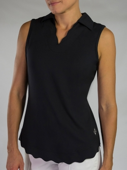 Lori 39 s golf shoppe jofit golf apparel for Plus size sleeveless golf shirts
