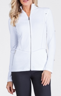Tail Ladies Essentials Leilani Golf Jackets - Black and White