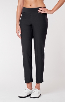 "Tail Ladies Mulligan 28"" Pull On Golf Ankle Pants - ESSENTIALS (Black)"