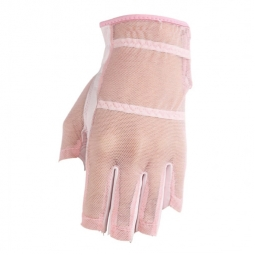 SPECIAL HJ Glove Ladies Solaire Tan Through Half Length Golf Gloves - 4 Colors (LH & RH)