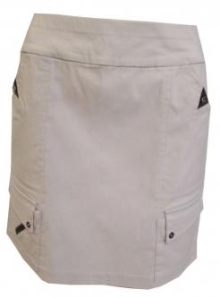 ac449f7a2f168 CLEARANCE Jamie Sadock Ladies Skinnylicious Pull On Golf Skorts - Filament