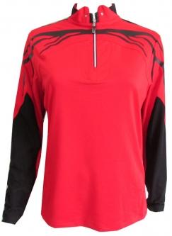 d8bf3d3537e8e Jamie Sadock Women s Plus Size Raisin Long Sleeve Golf Shirts - Joy Ride  (Red