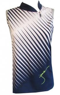 84cd68e34121c CLEARANCE Jamie Sadock Ladies Sleeveless Golf Shirts - Moonlit