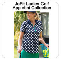 JoFit Ladies Golf Appletini Collection