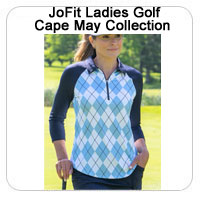 JoFit Ladies Golf Cape May Collection