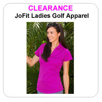 JoFit Ladies Clearance Golf Apparel
