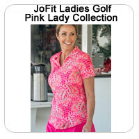 JoFit Ladies Golf Pink Lady Collection