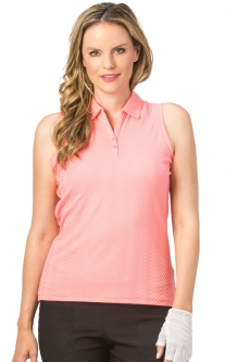 Nancy Lopez Ladies & Plus Size GRACE Sleeveless Golf Polo Shirts - Assorted Colors