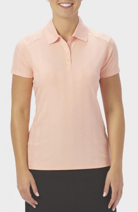 Nancy Lopez Ladies & Plus Size GRACE Short Sleeve Golf Polo Shirts -  ESSENTIALS (Assorted Colors)