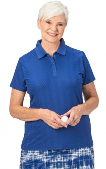 Nancy Lopez Ladies & Plus Size GRACE Short Sleeve Golf Polo Shirts - Assorted Colors