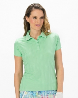 CLEARANCE Nancy Lopez Women's Short Sleeve Golf Polo Shirts - Grace (Assorted Colors)