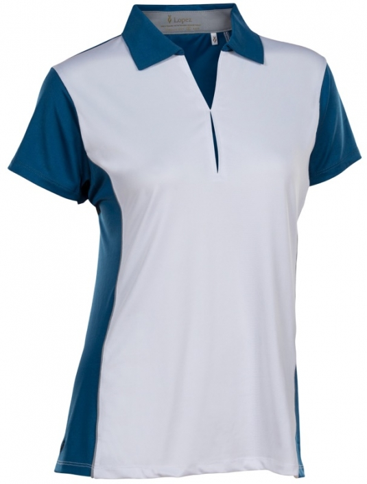 3e303c63 Lori's Golf Shoppe: SALE Nancy Lopez Women's Plus Size Bee Short Sleeve  Golf Polo Shirts - Indigo Multi