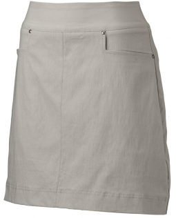 "Nancy Lopez Ladies & Plus Size Pully 18"" Pull On Golf Skorts - Concrete"