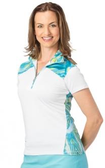 a767e4af05c20 Nancy Lopez Ladies   Plus Size HOLOGRAM Short Sleeve Golf Polo Shirts - Two  Colors