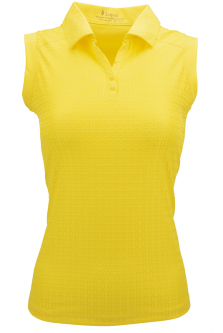 Nancy Lopez Ladies & Plus Size JOURNEY Sleeveless Golf Polo Shirts - ESSENTIALS (Assorted Colors)