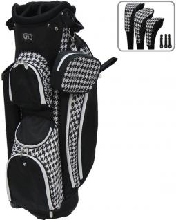 Rj Sports Las Lb 960 9 Golf Cart Bags Houndstooth