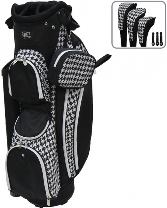 Rj Sports Las Lb 960 9 Golf Cart Bags Houndstooth