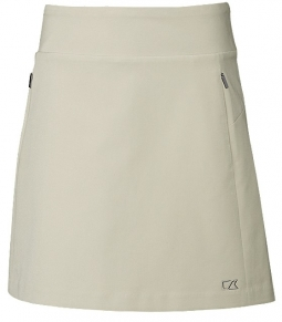 "Cutter & Buck Ladies & Plus Size Pacific 18"" Pull On Golf Skorts - Assorted Colors"