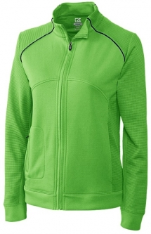 Cutter & Buck Ladies and Plus Size DryTec Edge Full Zip Golf Jackets - Asst Colors