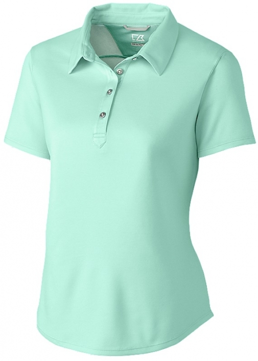 Cutter & Buck Ladies & Plus Size Fiona Short Sleeve Golf Polo Shirts -  Assorted Colors