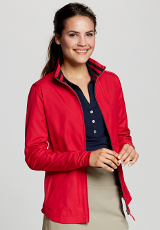 Cutter & Buck Ladies and Plus Size Nine Iron Full Zip Golf Jackets - Assorted Colors