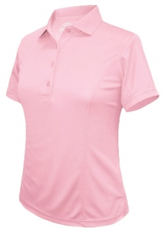SALE Monterey Club Ladies & Plus Size Medium Weight Solid ShortSleeve Golf Shirts-Assorted Colors