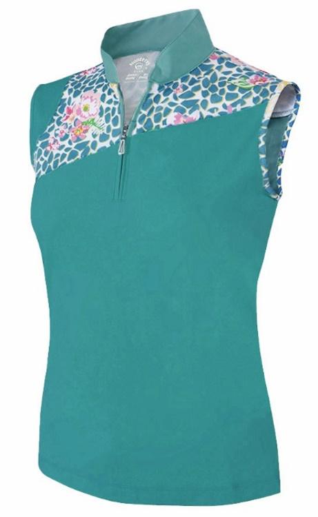 Womens sleeveless golf shirts photo album best fashion for Plus size sleeveless golf shirts