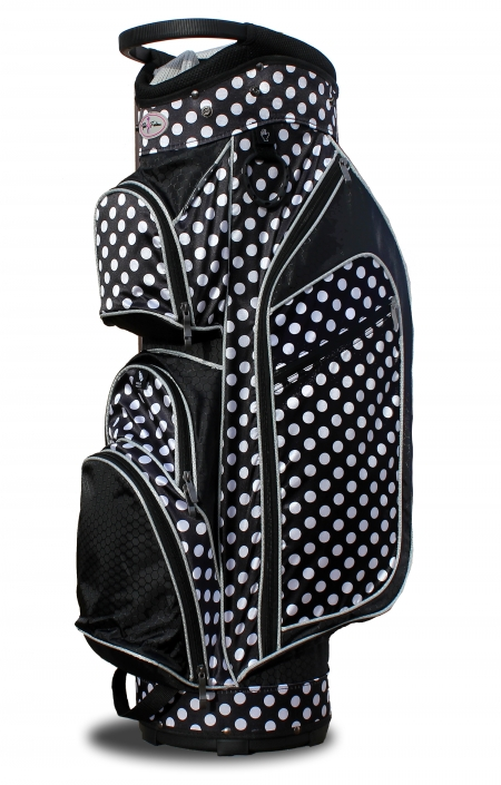Taboo Fashions Las Lightweight Golf Cart Bags Monaco Premium City Lights Polka Dot