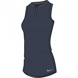 Nike Ladies Dry Polo Sleeveless Textured Golf Shirts - Assorted Colors