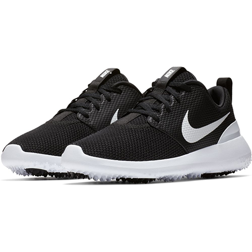 aa19a1aea176 Nike Ladies Roshe G Golf Shoes - Black White (Medium Width)