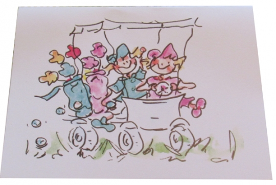 LGS Golf Gal Notecards (8 Pkg) - Golf Cart Buddies