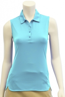 CLEARANCE EP New York Ladies & Plus Size Sleeveless Golf Shirts - Al Fresco (Aquaduct) Spring 2018