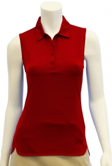 CLEARANCE EP New York Ladies Sleeveless Golf Shirts - Culture Clash (Tiger Lily) Spring 2018