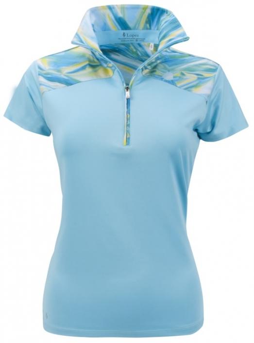 8bd67591 Nancy Lopez Ladies & Plus Size HOLOGRAM Short Sleeve Golf Polo Shirts - Two  Colors