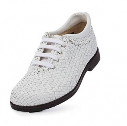 SPECIAL Aerogreen Messina Ladies Golf Shoes - White - Wide Toe Box