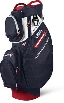 Sun Mountain Ladies 2018 Starlet Golf Cart Bags - Navy White Red 433349d813360