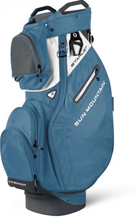 Lori s Golf Shoppe  Sun Mountain Ladies 2018 Starlet Golf Cart Bags -  Storm Niagara White 8318827b2c488