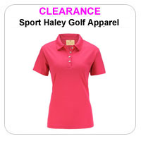 Sport Haley Ladies Golf Clearance Apparel