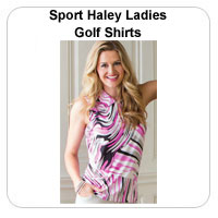 Sport Haley Ladies Golf Shirts