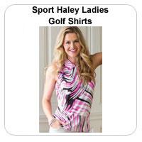 Sport Haley Ladies Golf Shirts