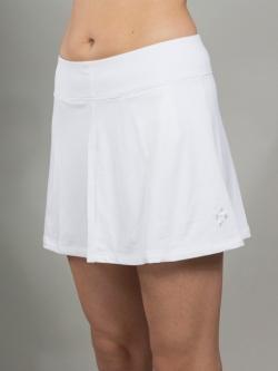 e5403d639ff JoFit Ladies Swing Tennis Skorts (Short) - Madras (White)