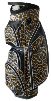 Taboo Fashions Ladies Monaco Lightweight Golf Cart Bags - Safari