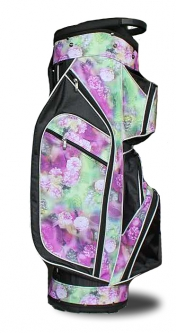Taboo Fashions Ladies Lightweight Golf Cart Bags - Monaco Premium (Night Orchid)