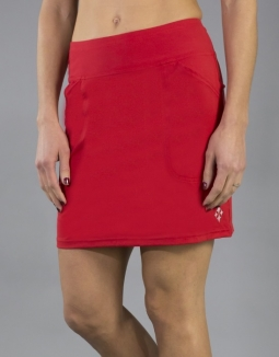 JoFit Ladies & Plus Size Mina Golf Skorts - Barossa (Lipstick)