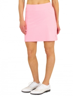 JoFit Ladies & Plus Size Mina (Long) Pull On Golf Skorts - Sherry (Confetti Pink)