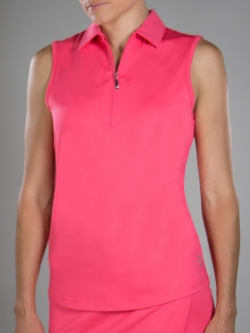 Lori 39 s golf shoppe jofit ladies plus size dynamic golf for Plus size sleeveless golf shirts