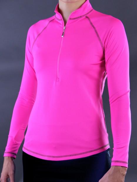 Lori's Golf Shoppe: CLEARANCE JoFit Ladies Jacquard Long Sleeve ...