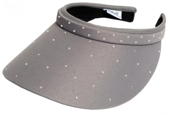 Lori s Golf Shoppe  Glove It Ladies Bling Golf Visors (Comfort Clip) - Grey  Bling Slide On f290adeea5c