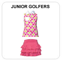 Junior Girls Golf Apparel