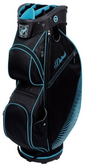 Datrek Ladies/Men's CB Lite Golf Cart Bags - Black/Turquoise